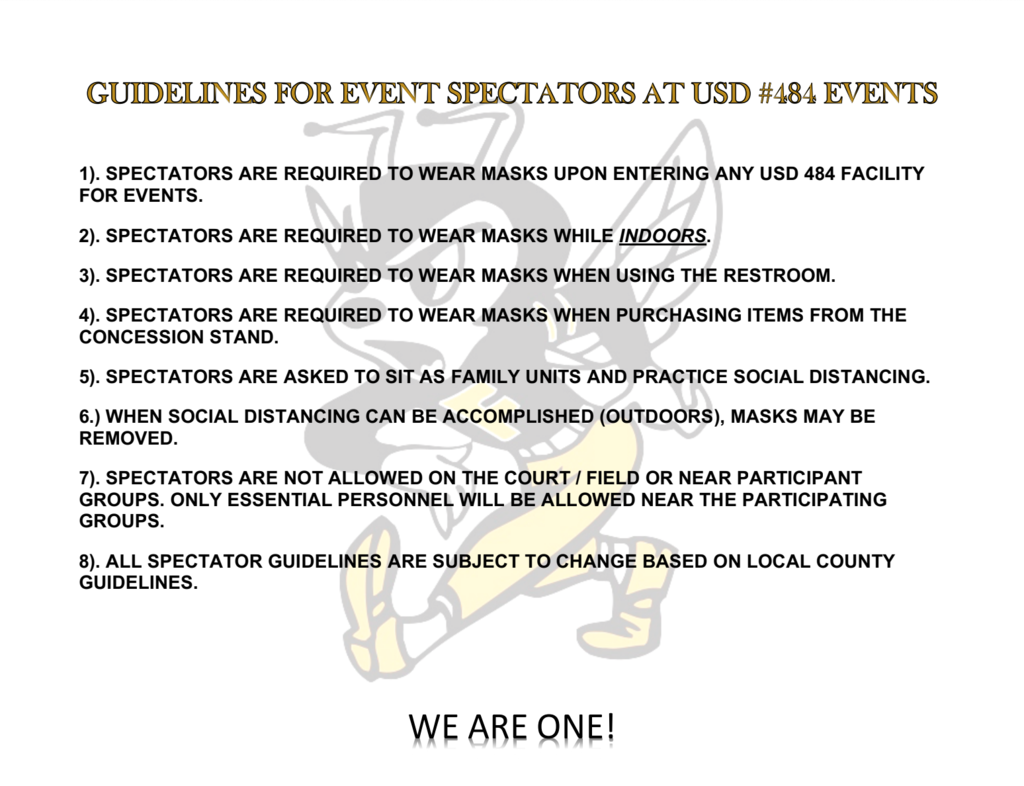 Fredonia Spectator Guidelines