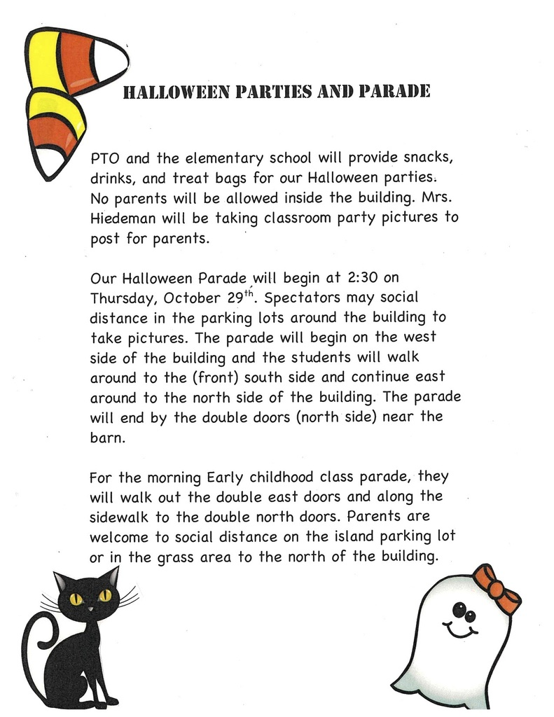 Halloween Parties and Parade Information