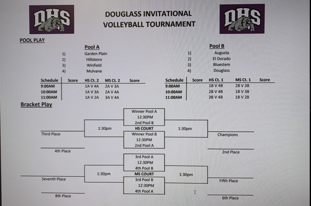 Douglass Volleyball Invite