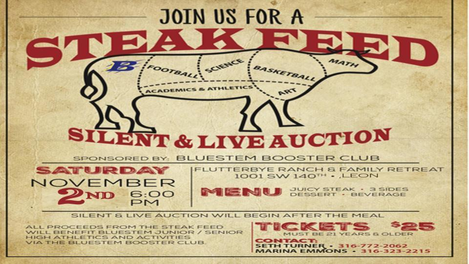 Booster Club Steak Feed