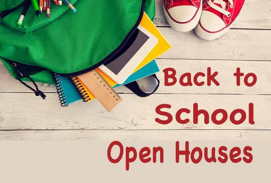 Open House 8/20/2020