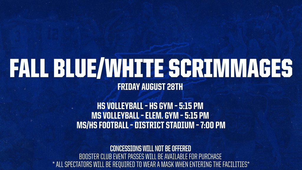 Blue/White Scrimmages