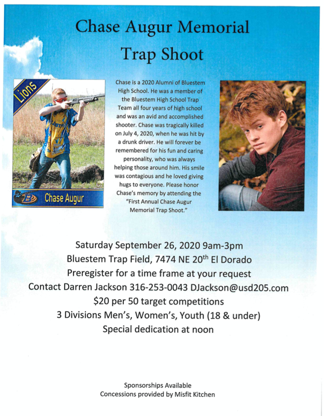 Chase Augur Memorial Trap Shoot